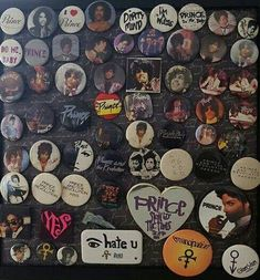 Prince buttons: