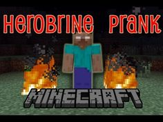 [HD] EPIC HEROBRINE PRANK :: Gullible Friend Believes in Herobrine!!! (Minecraft) - YouTube