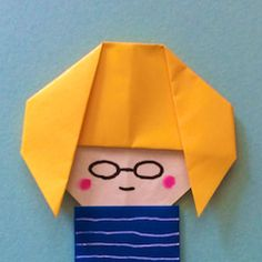 Jpapanese Origami creator kamikey' s original origami works and traditional models. I like to create kawaii origami. Diy For Kids, Crafts For Kids, Diy And Crafts, Paper Crafts, Origami And Quilling, Origami Tutorial, Paper Folding, Scrapbook Sketches, Free Blog