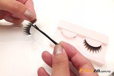 Wear fake lashes, without gluing your eyes shut.