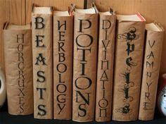 Harry Potter book decoration idea