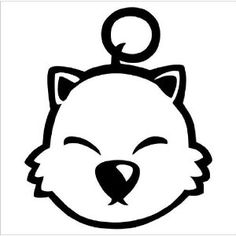 #FinalFantasy #Moogle #Decal #Sticker
