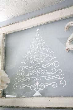 Scroll Christmas tree
