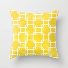 Sunshine Throw Pillow by Tayler Willcox - $20.00