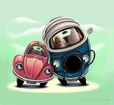 [ Volkswagen Illustration ]