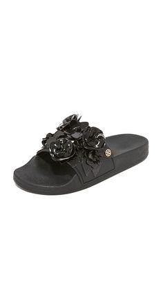 faa0b1c87e967 TORY BURCH Blossom Slides.  toryburch  shoes  slides