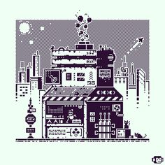Pix Art, Art Images, Arte 8 Bits, Cool Pixel Art, Pixel Drawing, Pixel Art Games, Isometric Design, Retro Art, Simple Art