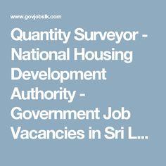 Sri Lankan Government Job Vacancies At Department Of Forest