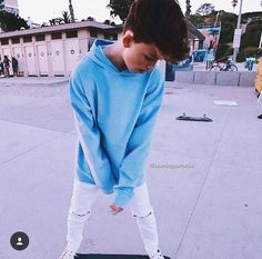 Blue is a cute color on Jacob L