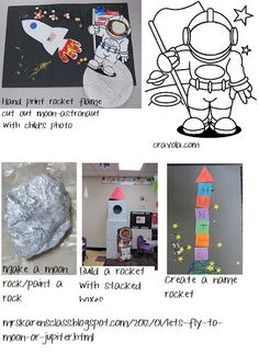 Welcome back- Letter A Squish Preschool Ideas: Outer Space Fun! Space Theme Preschool, Space Activities, Preschool Science, Science Activities, Preschool Crafts, Preschool Ideas, Craft Ideas, Fun Ideas, Sistema Solar