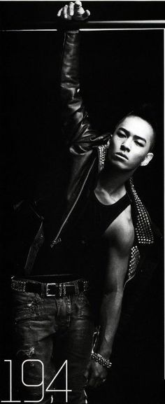 Taeyang from Big Bang - GQ Magazine January Issue '10
