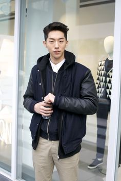 Find images and videos about nam joo hyuk, nam juhyuk and nam ju hyuk on We Heart It - the app to get lost in what you love. Korean Male Models, Korean Men, Korean Actors, Asian Actors, Asian Men Fashion, Korean Street Fashion, Mens Fashion, Boy Fashion, Fashion Tips