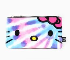 Hello Kitty Pouch: Tie-Dye