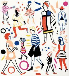 VO   Valérie Oualid : Agent d'illustrateurs   Marie Assénat   Vide Dressing Paris Baguette, Bay Area, 4 Image, Vogue Japan, Illustrations, Packaging Design, Alphabet, How To Draw Hands, Snoopy