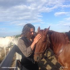 Anson and Q, Hell on Wheels, July, 2015 Anson Mount, Hell On Wheels, Victorian Steampunk, Perfect 10, Historical Romance, Actor Model, Dream Guy, Wild West, Gorgeous Men