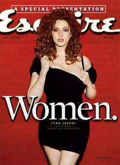 Christina Hendricks Sexy Esquire Cover - Things to Which You Should Toast - Esquire