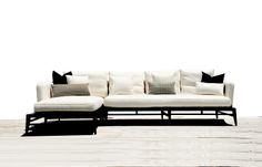 How is this for living Glamorously? ....Made in the Glamorous Miami; the Holly sectional will elevate a notch up!... your stunning Home; ...customize the frame in teak and you can have a sectional for the outdoors! ...Choices!  #sectionals #modernsectionals #modernfurniture #furniturestoresmiami    http://www.kmpfurniture.com/fire_collection/category_10/product/holly-sectional_1563.html#