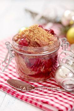 Blogpost auf Mama wann gibts essen???  Schokoladenmousse mit Kirschkompott