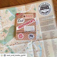 Pleased to help this most worthy project! ======> @east_end_trades_guild:What a beautiful thing! Thank you so much @jamesprints @herb_lester @calverts_print_london 120 of our incredible businesses listed for #eastendindieday #smallbizsat 3rd December! #maps #indie #shops #services #smallbiz100 #makers #artists #togetherwearestronger #cartography #london #londonindependents