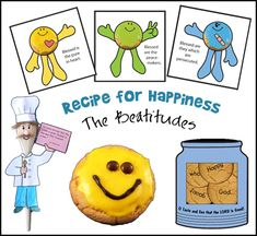 Beatitude Recipe for Happiness www.daniellesplace.com