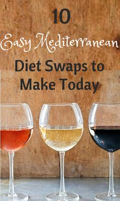 Mediterranean Diet Swaps Small Swaps, Big Health Benefits - this is do-able
