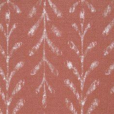 Kaftor Leaf Geranium. Available printed on linen, cotton, cotton linen blends. © Ellen Eden