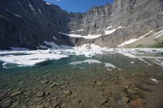 Iceberg Lake - Glacier National Park #hiking #camping #outdoors #nature #travel #backpacking #adventure #marmot #outdoor #mountains #photography