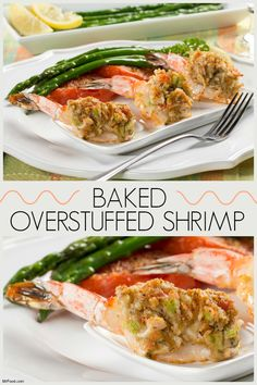 Stuff shrimp the way they do in fancy restaurants with our easy recipe! Our Overstuffed Shrimp are stuffed with a yummy filling that includes crabmeat, bread crumbs, and a blend of seasonings!