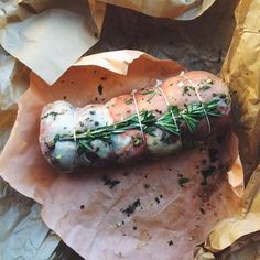 SLOW SUNDAYS - THE LAZY ROUTE - ROSEMARY ROLLED BREAST OF LAMB
