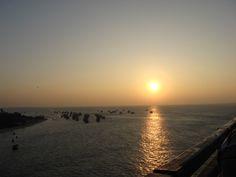 Sunrise at Rameshwaram, India