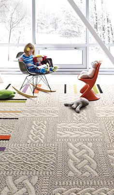 Carpet squares.   Absolutely - love that you can mix & match, change out  one if u spill, Love these!!!