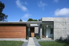 curt cline mid century modern house | Love this entry and it composition