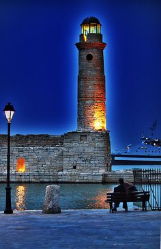 Old Harbor Lighthouse, Greece