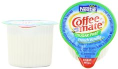 Coffee-mate Coffee Creamer, Sugar Free French Vanilla Liquid Singles, 0.375-Ounce Creamers (Pack of 180) >>> More info could be found at the image url.