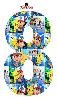 Festa Pokemon Go, Pokemon Party, Pokemon Birthday, Pokemon Charmander, Sunshine Birthday Parties, 6th Birthday Parties, Pokemon Go Images, Pokemon Printables, Pokemon Masks