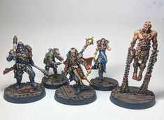 nquisitor Gregor Eisenhorn and retinue. Minis courtesy of and the magic they can work with resin . Inquisitor 40k, Wargaming Terrain, Fantasy Miniatures, Warhammer 40000, Destiny, Minis, Tabletop, Studios, Canning