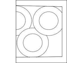 Olympic rings template