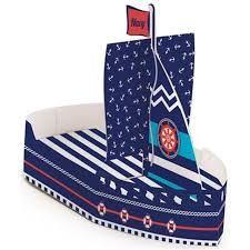 Barquinho Navy - Construindo Laços