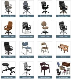 office chair types pillowcase covers for weddings 80 best different of chairs images desk a complete guide to find what you need with our