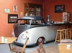 VW Bus Dome.....neat