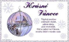 vánoční přání - přáníčka 004 Advent, Decorative Plates, Merry Christmas, Cards, Merry Little Christmas, Wish You Merry Christmas, Maps, Playing Cards