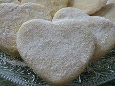 Tendres petits coeurs sablés au citron et à la cannelle sans gluten et sans lactose