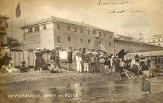 SAMPIERDARENA - Bagni del Bello - FOTO STORICHE CARTOLINE ANTICHE E RICORDI DELLA LIGURIA