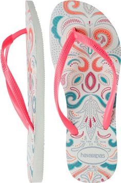 HAVAIANAS SLIM LACE FLIP FLOP. http://www.swell.com/footwear-new-arrivals