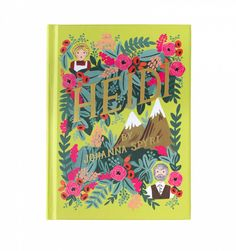 Rifle Paper Co. - Heidi - Hardcover Book Published By Puffin In Bloom With Matching Bookmark