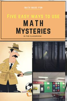 Full FREE Math Mystery product included to try out.
