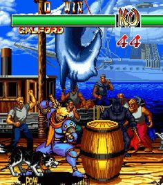 Shin Samurai Spirits: Haohmaru Jigokuhen / Samurai Shodown IIPublisher: SNK PlaymoreDeveloper: SNKPlatform: Arcade, Neo Geo, Neo Geo CD, PC, Wii, PlayStation, PlayStation 2, PlayStation Portable, Xbox 360, iOS, AndroidYear: 1994 (Arcade, Neo Geo, Neo Geo CD), 1998 (PS1), 2000 (PC), 2008 (PS2, Wii, Xbox 360), 2009 (PSP), 2013 (iOS, Android)