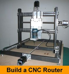 Picture of DIY CNC Router                                                                                                                                                                                 Más