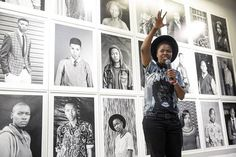 Zanele Muholi Doc Media '10 was honoured with the Knight of the Arts & Literature Award by France, for her creativity and social justice work in photography