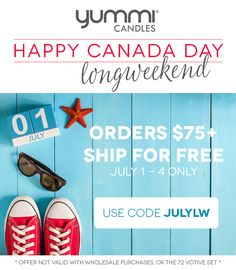 Happy Canada Day! Free Shipping on Orders over $75